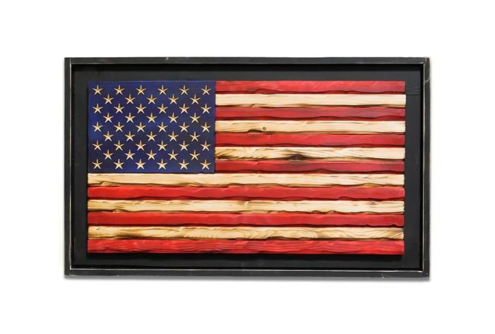 Homefront Old Glory Flag Old Glory Flag Framed American Flag American Flag Art