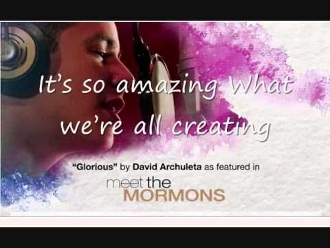 ▶ David Archuleta: GLORIOUS from Meet the Mormons - YouTube