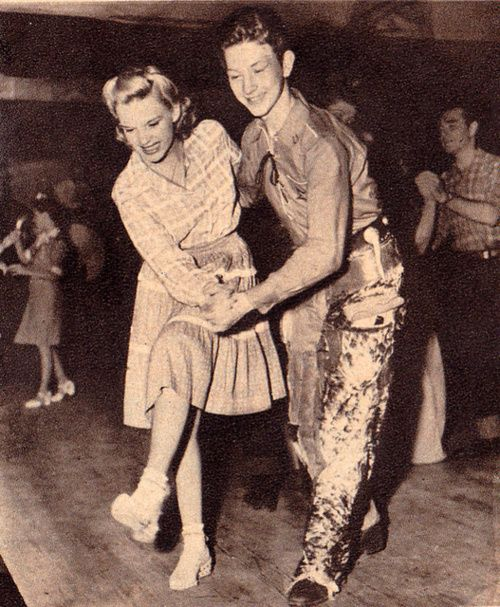 Judy Garland and Donald O'Connor