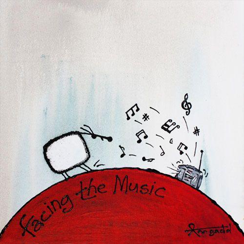 """Facing the Music"" by Ann Gadd"