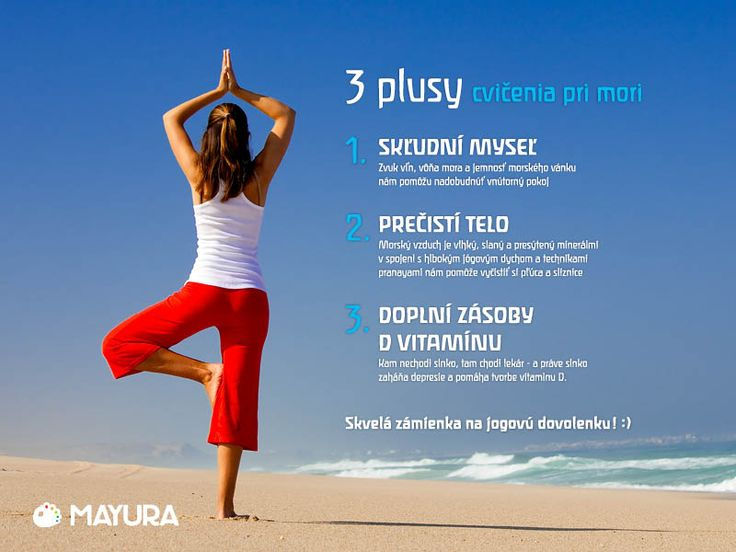 Joga pri mori/ yoga on the beach