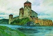 """New artwork for sale! - """" Fortress Finland 1896 by Levitan Isaac """" - http://ift.tt/2m5aSyt"""
