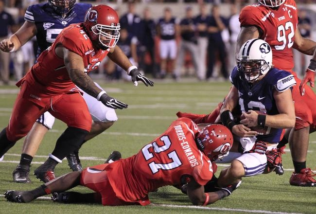 Utah Utes Football: 25 Observations from Saturday's Win over BYU    #BYU #LDS #BYUsports