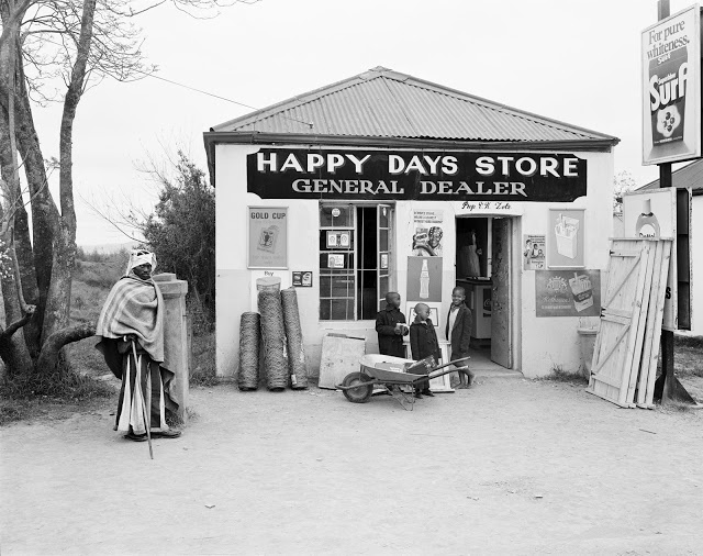 David Goldblatt - Happy Days Store, Flagstaff, Transkei, Eastern Cape, 1975
