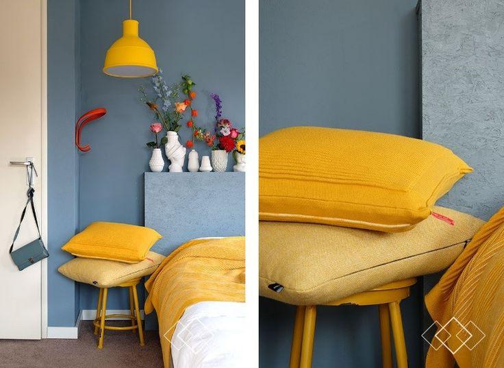 Denim drift in combi met geel. En andere felle kleuren