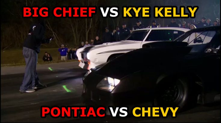 maxspeedmedia.com Street Outlaws Big Chief vs Kye Kelly In Car Footage #streetoutlaws #cars #pontiac #chevy #chevrolet #dragracing