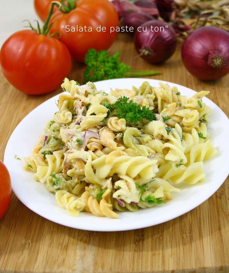 Salata de paste cu ton | gabriela cuisine - recipes