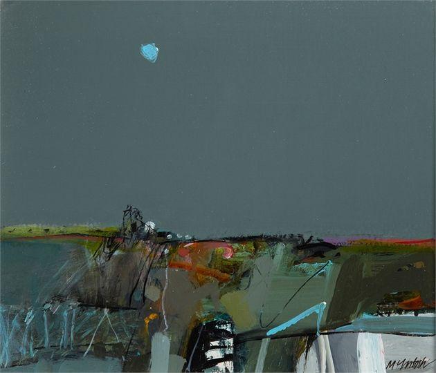 Lanarkshire Landscape by Archie Dunbar McIntosh