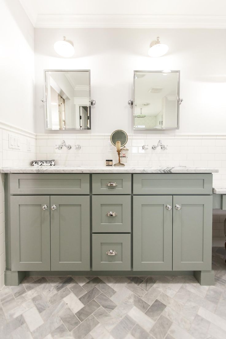 Arts and crafts bathroom tile - Rafterhouse Bathroom Makeover Hgtv