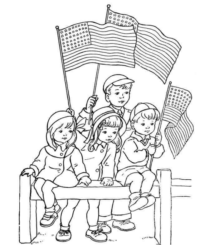 Presidents Day Coloring Pages Printable In 2020 Memorial Day Coloring Pages Veterans Day Coloring Page