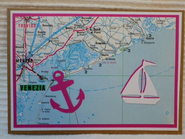 *Diese Karte passt für vielerlei Anlässe......  ... ob als Einladung zu einem Segeltörn ... für eine Urlaubsreise ... als Gutschein für die Reisekasse ... für die Hochzeitsreise ... oder als...