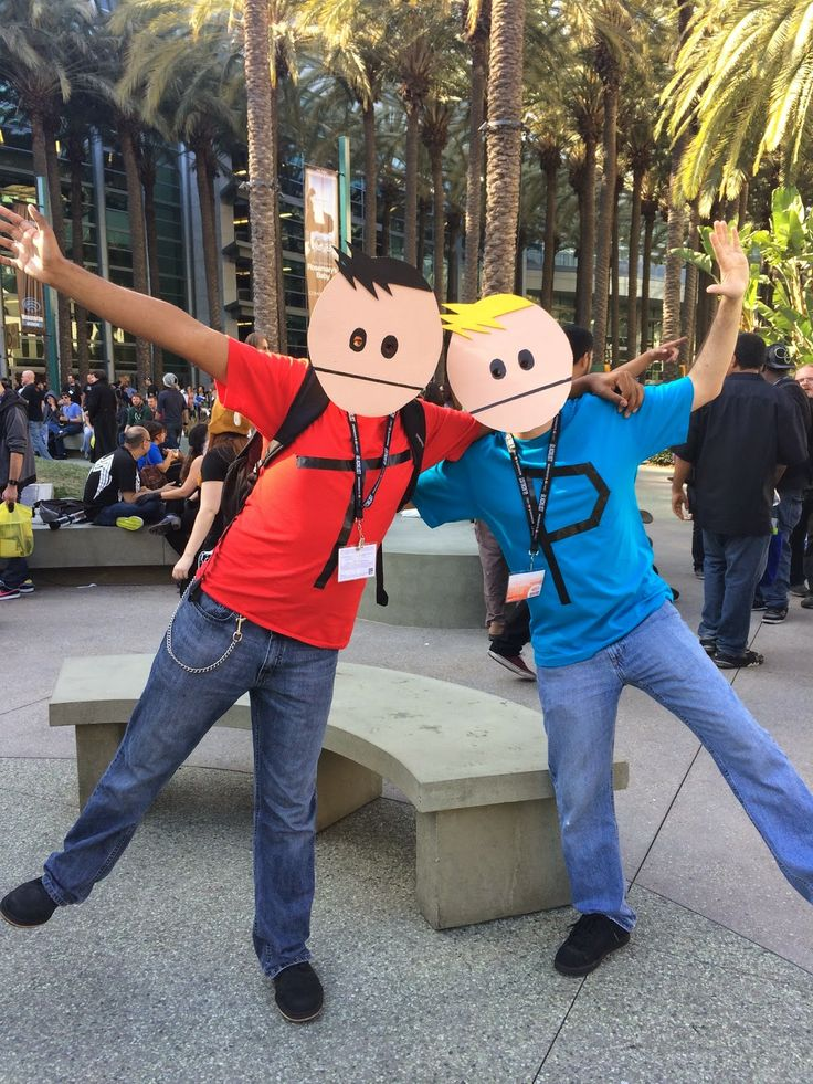 Terrance and Phillip, South Park cosplay at Wondercon 2014