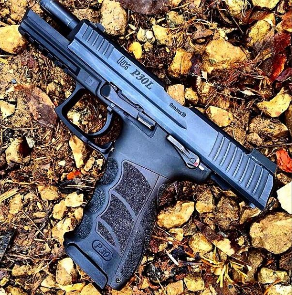 Heckler and Koch P30L is one of our favorite pistols at tacpack. #tacpack #guns #gungifts #giftsforhim #ar15 www.tacpack.com