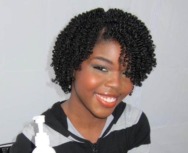 Black Hair Twist Styles Pictures: Two-strand Twist Style