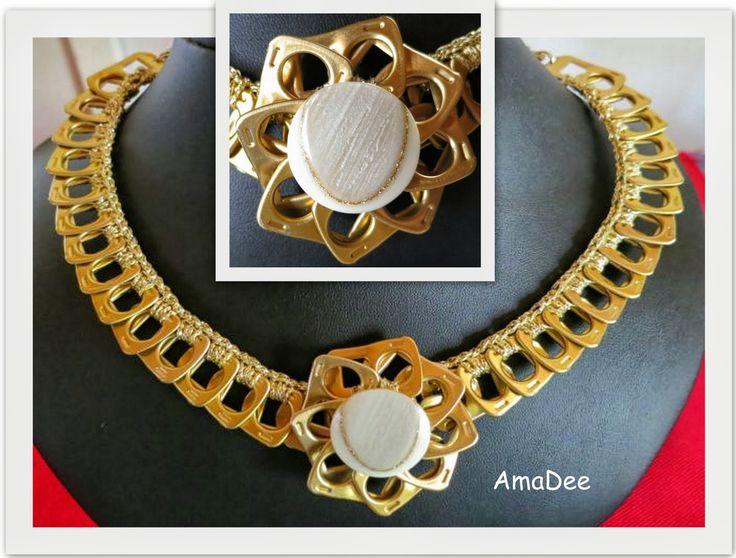 Pop tab necklace