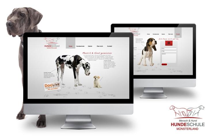 Webseite in Wordpress für eine Hundeschule aus dem Münsterland