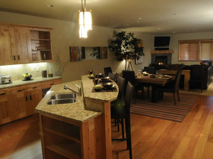 Kitchens With Eating Bars