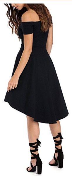 vestido enterizo corto negro detras
