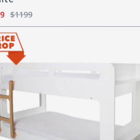 Charlie single bunk bed from freedom