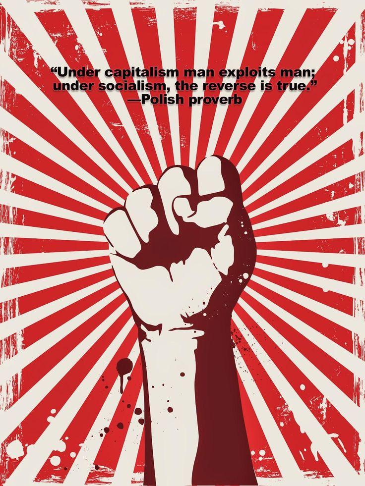 Under capitalism man exploits man; under socialism the reverse is true.Polish proverb [1200x1600] [OC]