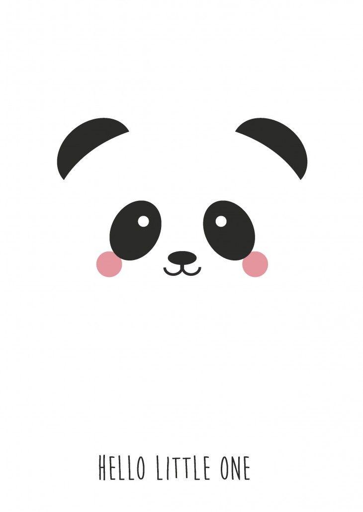 Studio inktvis HIP postkaarten #panda