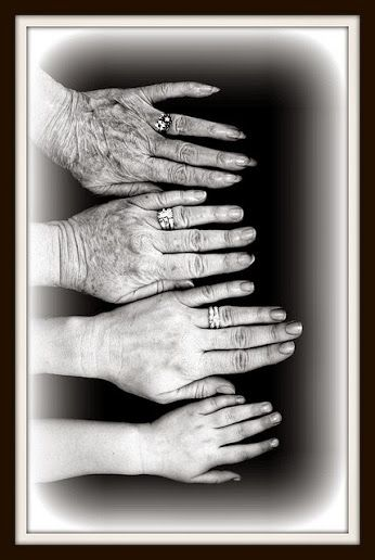 Four generations.. That's an awesome photography idea!