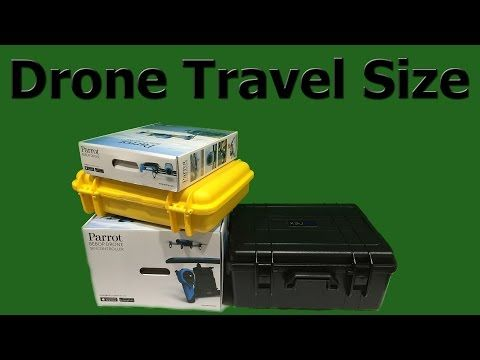 Parrot Bebop Drone with Skycontroller vs. DJI Phantom 2 size.  The size of these two drones may surprise you.  When traveling with a drone, weight and bulkiness are both factors.  Please share and be sure to watch my other Parrot Bebop Drone and DJI Phantom 2 videos too!
