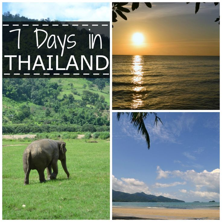 7 Days in #Thailand - #Travel Ideas and Itinerary