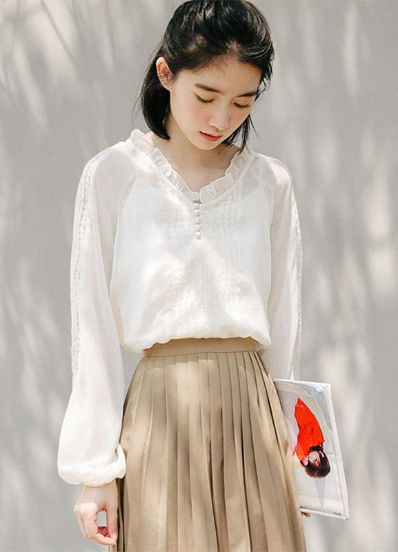 2019 Shirt Fashion Trends Daily Asian Fashion In 2019 Pinterest