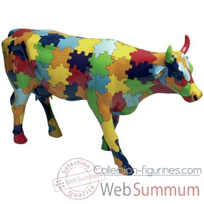 Cow Parade - Puzzling Cow