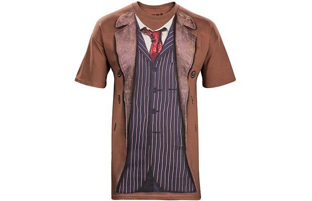 10th Doctor Costume T-Shirt Get yours here: http://tshirtonomy.com/go/tenth-doctor-costume