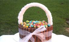 Easter basket chocolate cake recipe - Easter treats