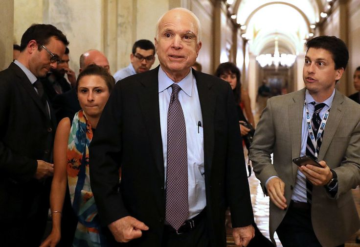 John McCain: 'I'm facing a challenge'