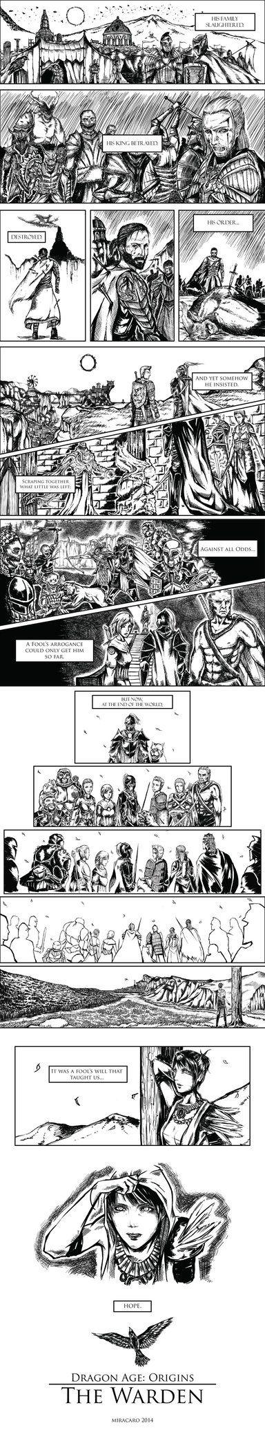 Dragon Age Origins: The Warden by miracaro