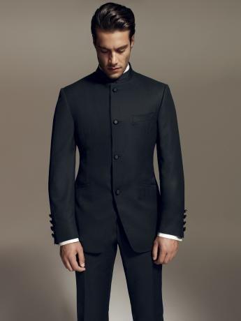 PE13 C012   Corneliani Nairu Collar Suit /Formalwear
