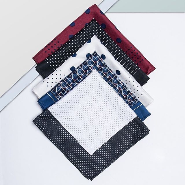 It's all in the details. Finish of your look with these classic hankies. theguideonline.com.au