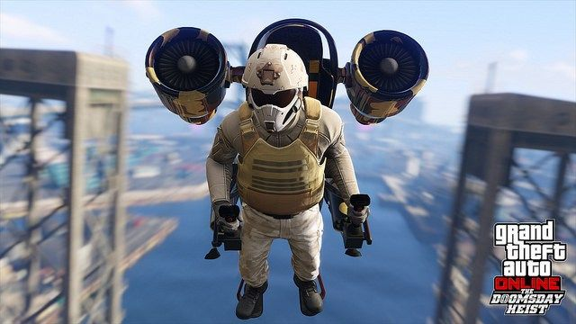 Grand Theft Auto Online The Doomsday Heist update