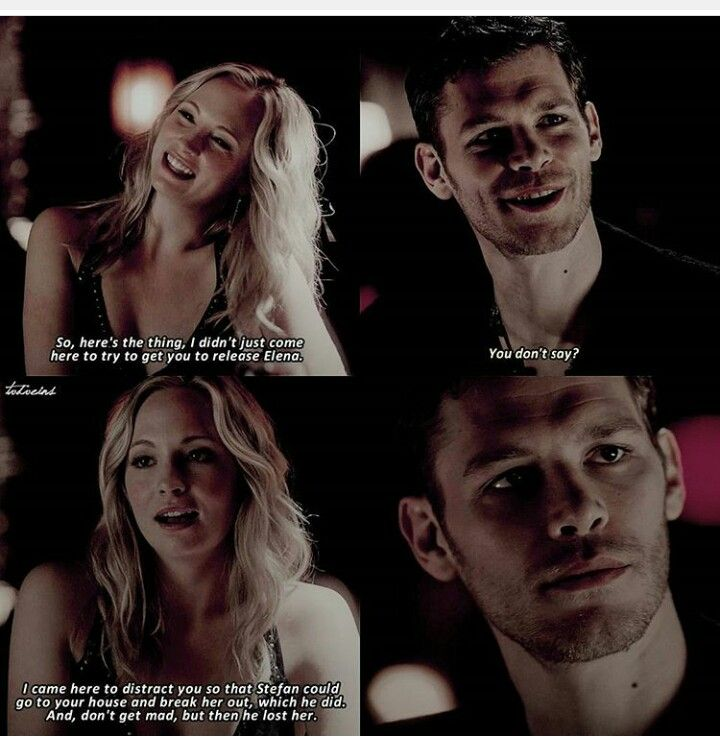 Ahhhh Caroline... Why do you have to break his heart?