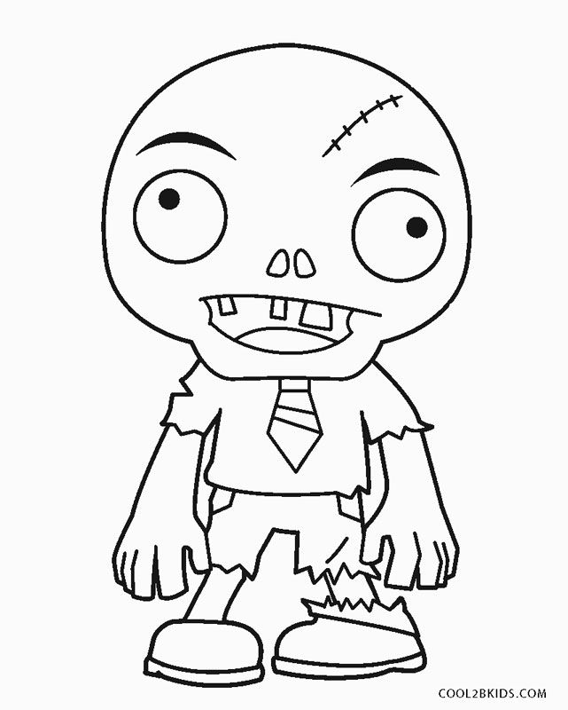 Free Printable Zombie Coloring Pages For Kids Coloring Pages Zombie Pics Coloring Pages For Kids