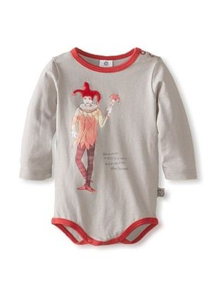 66% OFF Coney Island Baby Longsleeve Bodysuit (Ash Grey)