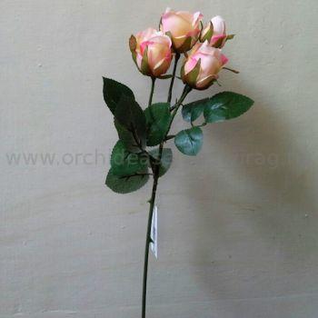 Rózsaszín rózsabimbó szál