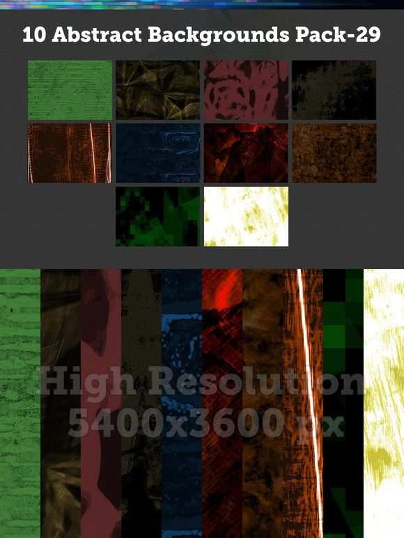10 Abstract Backgrounds – Pack-29