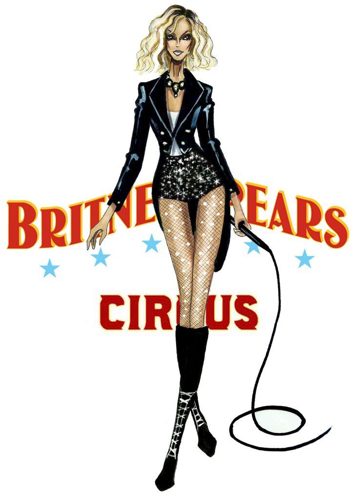 The Britney Spears Eras - Circus - by Armand Mehidri
