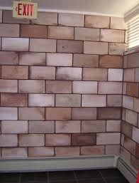 Cinder block walls block wall and cinder blocks on pinterest - Concrete block painting ideas ...