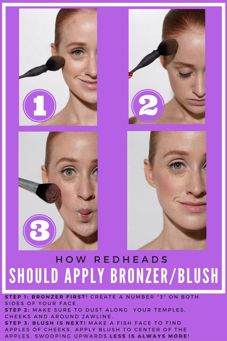 foundation and bronzer tutorial