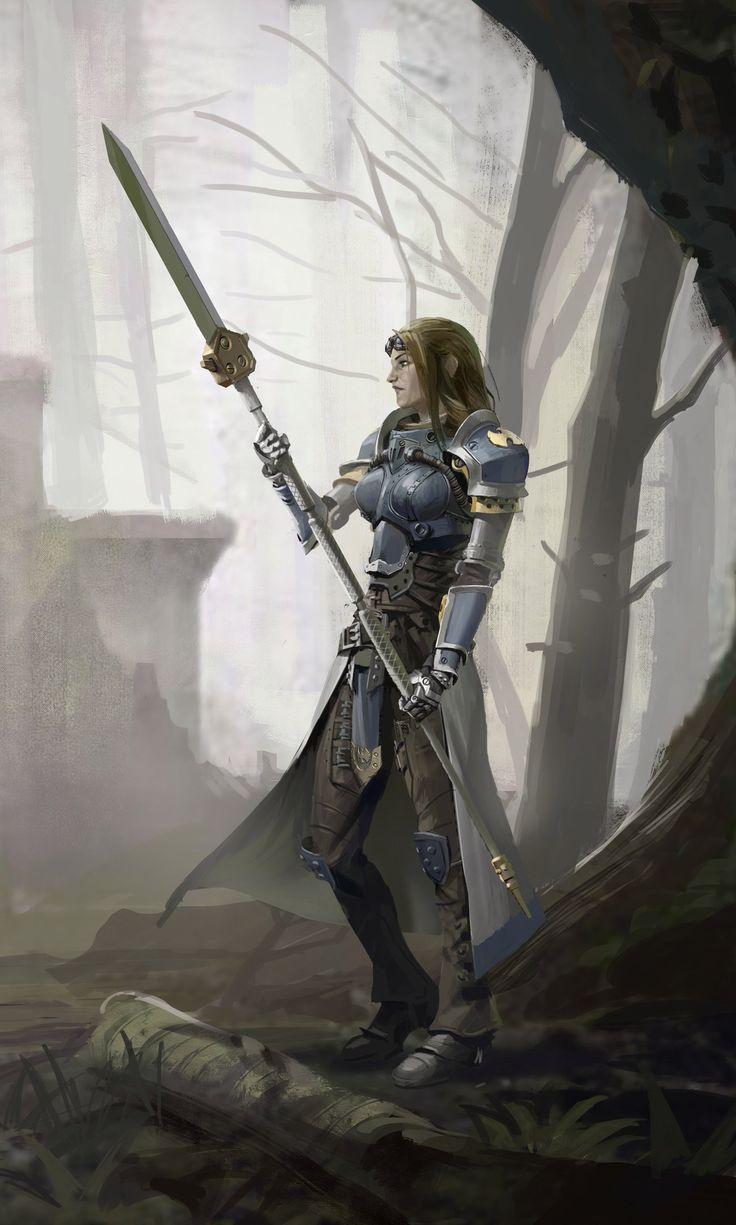 Female knight sister of battle