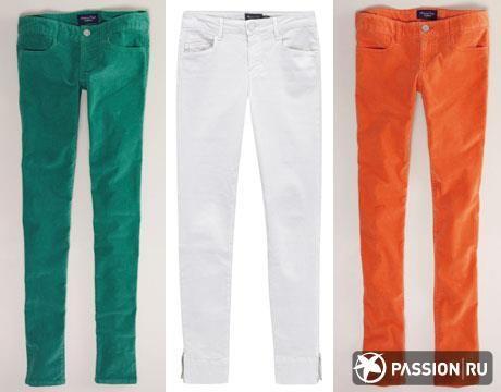 Цветные джинсы цена
