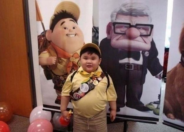 """IRL Russell From """"Up"""" 