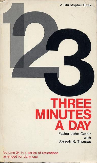 3 Minutes a Day. No designer credit.