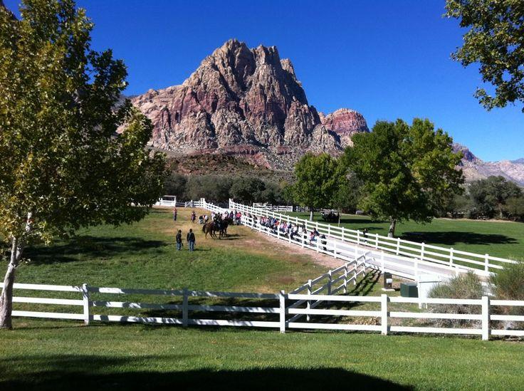Spring Mountain Ranch State Park Blue Diamond NV
